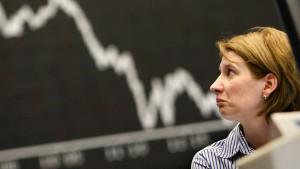Deutsche fürchten Finanzkrise und Inflation