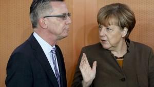 Merkel wusste nichts von Rückkehr zur Dublin-Prüfung
