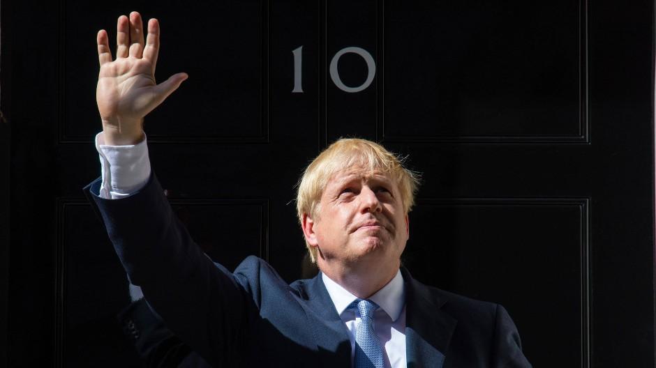 Freut sich über seinen haushohen Wahlsieg: der britische Premierminister Boris Johnson