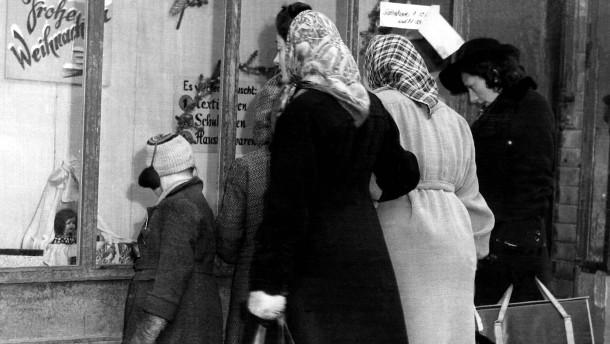 Auch zu Weihnachten 1945 gab es Lockerungen