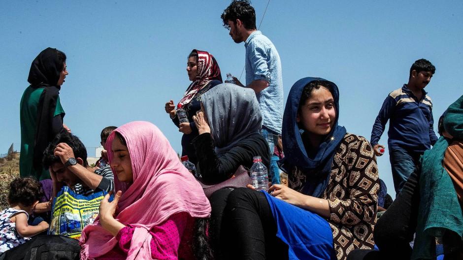Das vielfach unverstandene Objekt der Migrationsforschung: Migranten nach der Ankunft in Griechenland