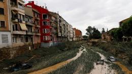 Massive Sturmflut setzt Nordspanien unter Wasser