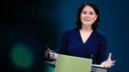 Lob für die Grünen, Kritik an der Union