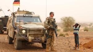 Bundeswehr bleibt weiter in Mali