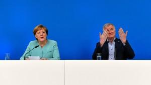 Es geht um Merkel-Deutschland