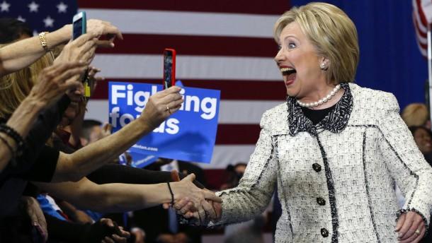 Hillary Clinton triumphiert in South Carolina