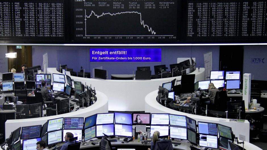 Deutsche Börse in Frankfurt