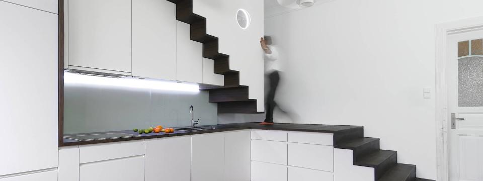 Treppen architektur design  Wie Bauherren die Treppe geschickt in den Grundriss integrieren