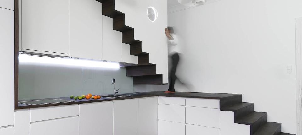 Wie Bauherren die Treppe geschickt in den Grundriss integrieren