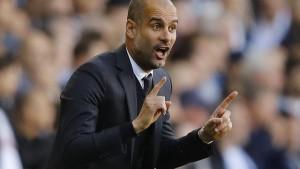 Erste Pleite für Guardiola in Manchester
