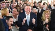 Hochrechnungen: CDU klar vorne