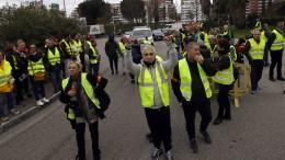 Proteste gegen hohe Spritpreise