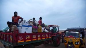 Hunderttausende fliehen vor Wirbelsturm Fani