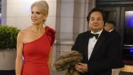 Power Couple: Kellyanne Conway und ihr Mann George bei einem Gala-Dinner in Washington am Tag vor Trumps Amtseinführung 2017.