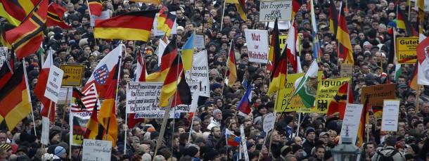 """Abgesagt: An diesem Montag wird es keine Demonstration """"gegen die Islamisierung des Abendlandes"""" in Dresden geben."""