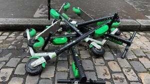 E-Roller sorgen für Unmut in Paris