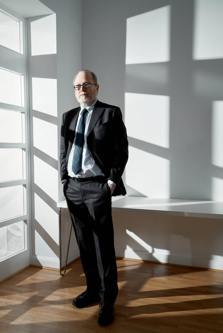 """Reemtsma in der Hamburger Stiftung zur Förderung von Wissenschaft und Kultur: """"Zivilisation ist immer gehemmtes Tun. Das ist anstrengend. Deswegen gibt es eine neidvolle Faszination für jemanden, der auf die Regeln pfeift."""""""