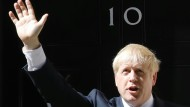 Will im Notfall einen harten Brexit: der britische Premierminister Boris Johnson