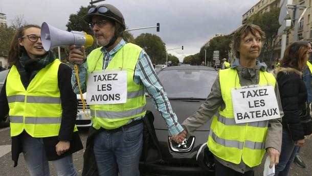 Anhänger von Protestbewegung mit Sprengstoff festgenommen