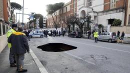 Roms Bürgermeisterin wird vorgeführt