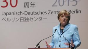 Merkel wirbt für Atomausstieg