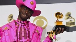 Stars auf dem roten Grammy-Teppich