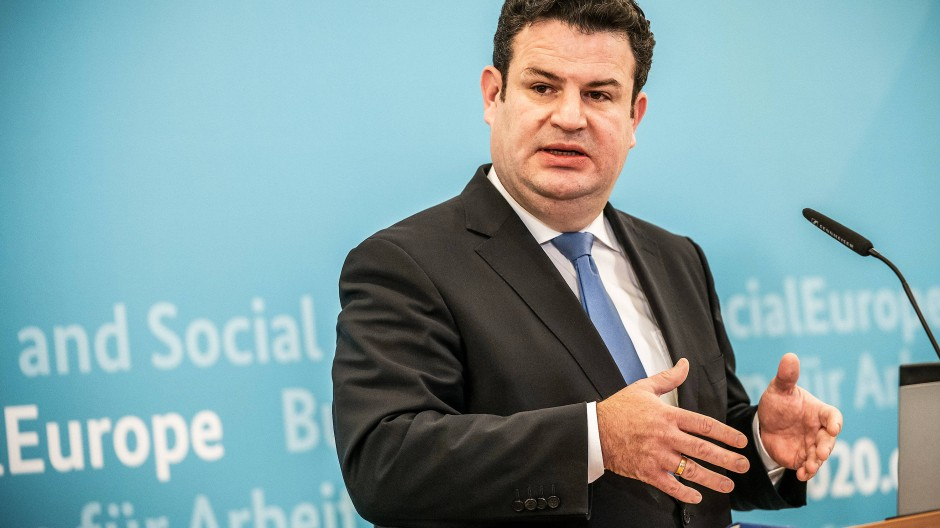 Bundesarbeitsminister Hubertus Heil