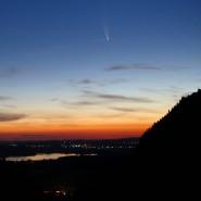 Komet Neowise ist am 14. Juli bei Schloss Neuschwanstein zu sehen