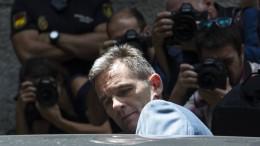 Schwager des spanischen Königs Felipe VI. tritt Haft an