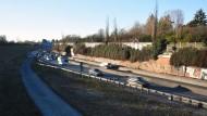 Ein Jahrhundertprojekt: Die A 661 soll eingehaust werden.