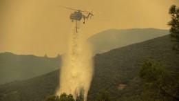 Tobende Waldbrände in Kalifornien