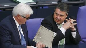 Deutsche wollen Steinmeier statt Gabriel