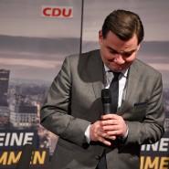 Die herbe Niederlage steht ihm ins Gesicht geschrieben: Marcus Weinberg, CDU-Spitzenkandidat bei der Bürgerschaftswahl.