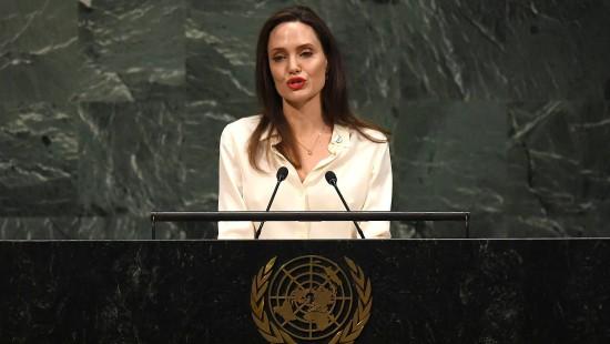 Angelina Jolie fordert stärkeres Engagement Amerikas