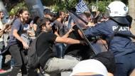 Die Griechen haben ihr Geld außer Landes geschafft