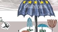 Ein Schirm für Europas Sparer