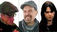 Bis heute nicht auffindbar: Das Bild zeigt die RAF-Terroristen Burkhard Garweg, Ernst-Volker Staub und Daniel Klette.