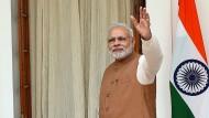 Indischer Regierungschef Narendra Modi