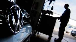 """Auch eine neue Software von VW ist """"auffällig"""""""