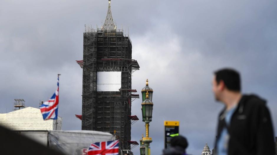 Wenn Big Ben schlagen soll, würde das wegen Umbauarbeiten eine halbe Million Pfund kosten.