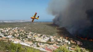 Waldbrände unter Kontrolle