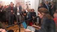 Buchmesse Frankfurt: Mit Freunden, aber ohne Partys