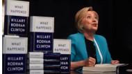 Die Buchvorstellung in New York wird für Hillary Clinton zum Heimspiel.