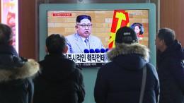 Kim Jong Un: Amerika kann uns nicht den Krieg erklären