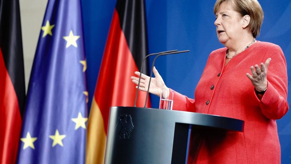 Bundeskanzlerin Angela Merkel weiß um die hohen Erwartungen, die in Deutschland gesetzt werden.