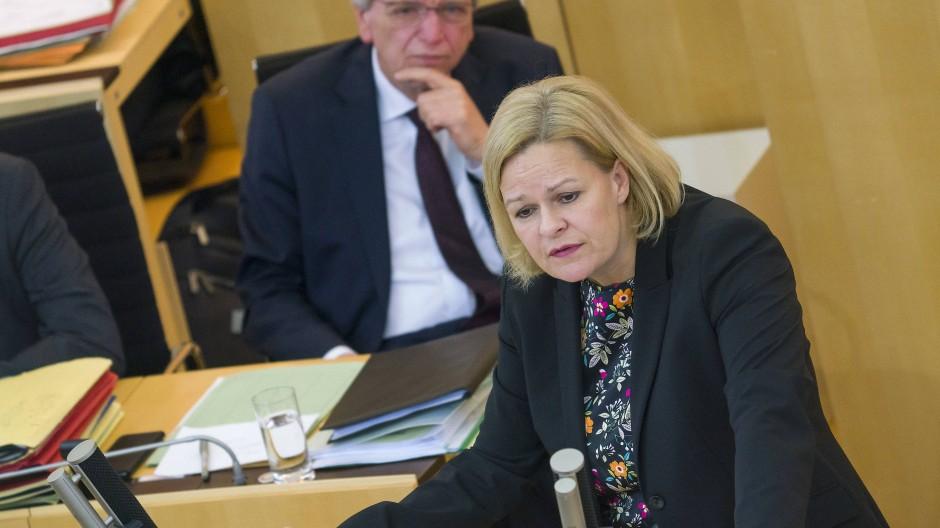 """""""Es ist nicht hinnehmbar, dass Türkisch oder Griechisch auch in Zukunft nicht als zweite oder dritte Fremdsprache unterrichtet werden sollen"""", so Hessens SPD-Fraktionsvorsitzende Faeser."""
