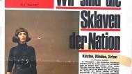 Erstausgabe der Politischen Zeitschrift (PZ) von 1971