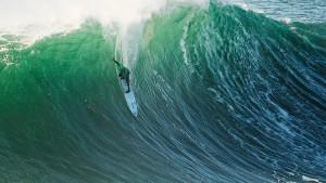 Extremsurfen in Monsterwellen