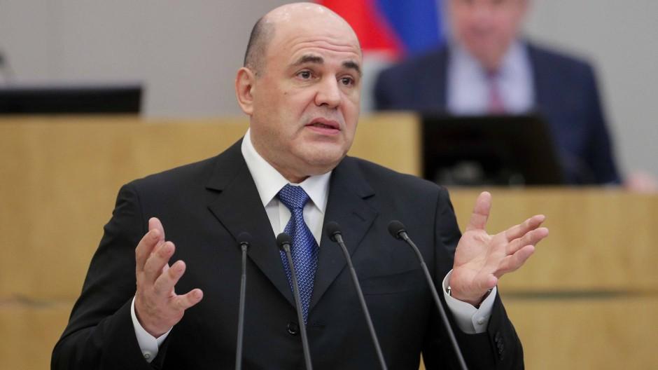 Mischustin wird neuer Regierungschef