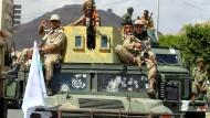 Houthi-Rebellen im Yemen
